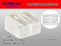●[Tokai-Rika]025 model 11 pole F connector  (no terminals) /11P025-TR1120-F-tr