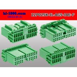 Photo2: ●[JAE]025 type IL-AG5 series 22 pole F connector (no terminals) /22P025-IL-AG5-JAE-F-tr