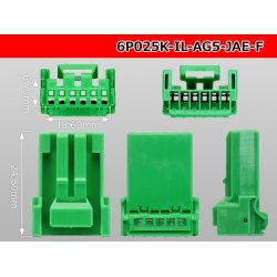 Photo3: ●[JAE]025 type IL-AG5 series 6 pole F connector (no terminals) /6P025-IL-AG5-JAE-F-tr