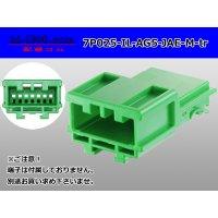 ●[JAE]025 type IL-AG5 series 7 pole M connector (no terminals) /7P025-IL-AG5-JAE-M-tr