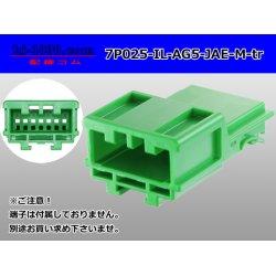 Photo1: ●[JAE]025 type IL-AG5 series 7 pole M connector (no terminals) /7P025-IL-AG5-JAE-M-tr