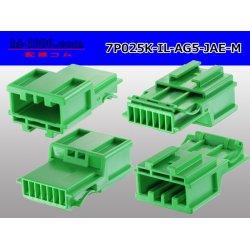 Photo2: ●[JAE]025 type IL-AG5 series 7 pole M connector (no terminals) /7P025-IL-AG5-JAE-M-tr