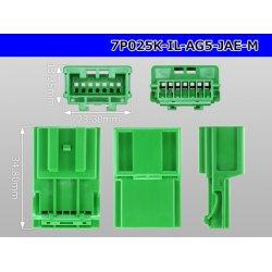 Photo3: ●[JAE]025 type IL-AG5 series 7 pole M connector (no terminals) /7P025-IL-AG5-JAE-M-tr