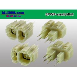 Photo2: ●[sumitomo] SMDC6 pole [waterproofing] male connector (terminal one forming) /6PWP-smdcMkit