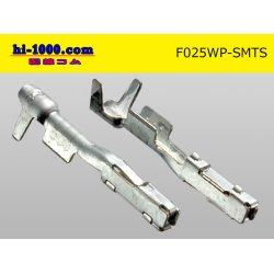 Photo2: 025 Type TS /waterproofing/  series  female  terminal /F025WP-SMTS