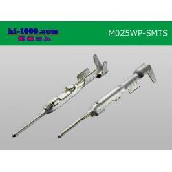 Photo2: 025 Type TS /waterproofing/  series  male  terminal   only  ( No wire seal )/M025WP-SMTS-wr