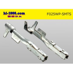 Photo2: 025 Type TS /waterproofing/  series  female  terminal   only  ( No wire seal )/F025WP-SMTS-wr