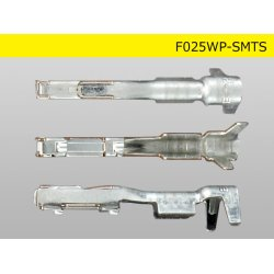 Photo3: 025 Type TS /waterproofing/  series  female  terminal   only  ( No wire seal )/F025WP-SMTS-wr
