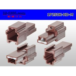 Photo2: 1P250 Type HD series  Male side  Connector only  (No male terminal) /1P250-HD-M-tr