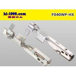 Photo2: ■[sumitomo]040 Type HX series /waterproof/ F terminal  (With M size wire seal) / F040WP-HX