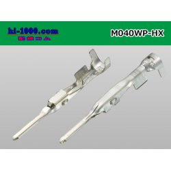 Photo2: ■[Sumitomo] 040 type HX/HV/HVG waterproof M terminal [medium size] (No wire seal) / M040WP-HX-wr