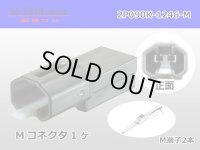 [SWS] 090 Type  2  series  2 poles  Male terminal side coupler kit - [color Black] M090-SMTS/2P090K-1246-M