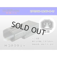 [SWS] 090 Type  2  series  2 poles  Male terminal side coupler   only  - [color Black]  (No male terminal) /2P090-1246-M-tr