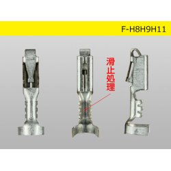 Photo3: Delphi [Delphi] H8/H9/H11  /waterproofing/ F Terminal   only  ( No wire seal )/F-H8H9H11-wr
