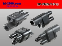 Bullet Terminal 形 Terminal   Triode cylinder F connector - Triangle only  (No terminal)