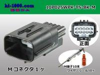 025 Type TS /waterproofing/  series 10 pole M Connector kit /10P025WPK-TS-BK-M