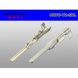 Photo2: ● [yazaki] 060SDL_SDL-II Non waterproof male Terminal /M070-YZ-SDL